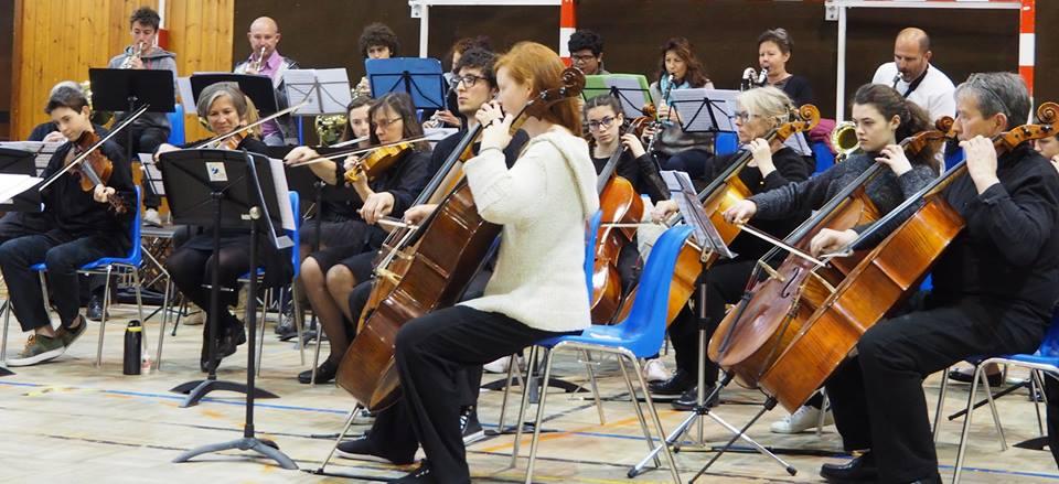 Répétition orchestre symphonique Conservatoire CCB